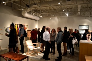 opening of sheridan's gallery graduate exhibition
