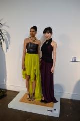 models Rebeca Haughton & Ellie Zhang