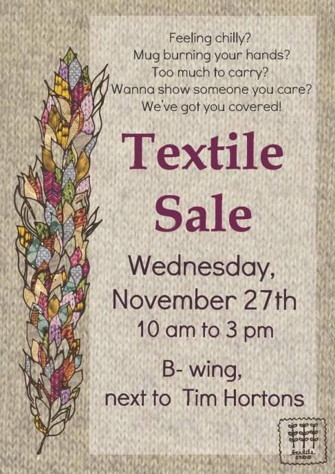 textile sale poster